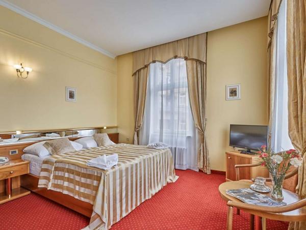 Spa hotel Sirius**** v historickém centru lázeňského města Karlovy Vary s polopenzí, vstupy do saunového světa a variantami až do listopadu 2021