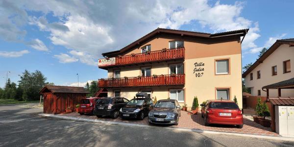 Příjemné ubytování ve vilách pod Lomnickým štítem s ubytováním pro dítě do 6 let zdarma