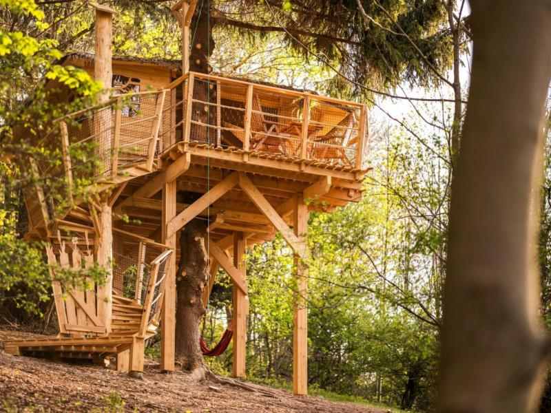 Ubytování v treehousu s výhledem na Ještěd
