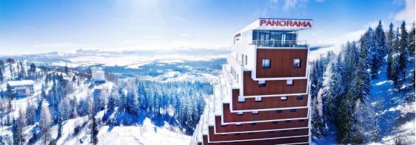 Hotel Panorama **** u Štrbského plesa s polopenzí a dítětem do 11 let v ceně, pobyty platí během celého roku 2021