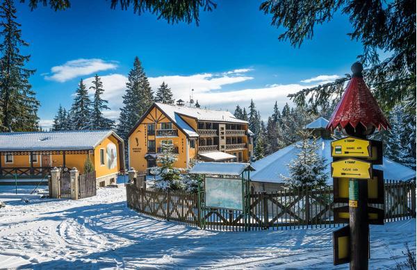 Dovolená uprostřed lesa Račkové doliny v horské chatě OREŠNICA *** s polopenzí a dětmi v ceně