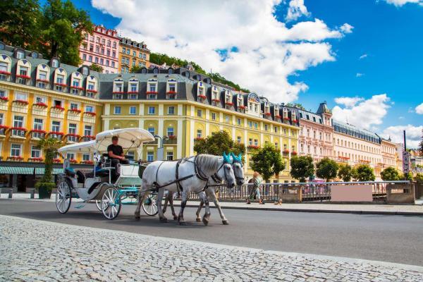 Luxusní péče v hotelu Panorama Spa Sanatorium v Karlových Varech s lázeňskými procedurami, tradicí již od roku 1845 a platností do prosince 2021