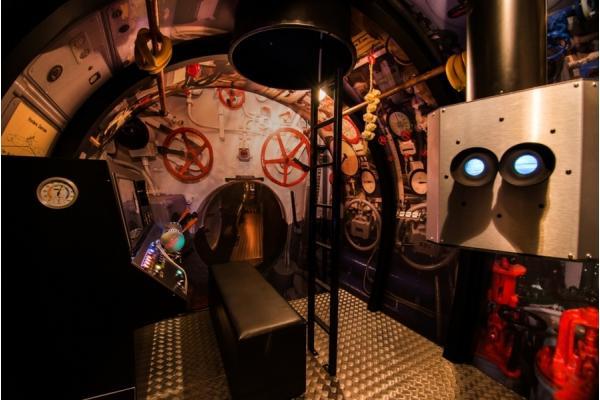Simulátor ponorky U-BOAT Praha
