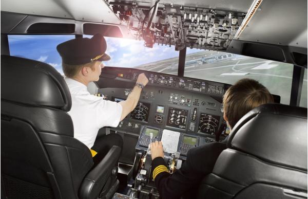 Letecký simulátor Airbus A320 vs. Boeing 737 Praha