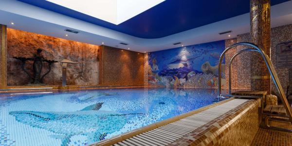 Boutique Spa Hotel Aqua Marina **** v Karlových Varech s polopenzí nebo snídaní, procedurami a volným vstupem do wellness