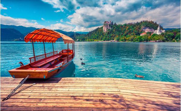 Slovinský penzion Zaka *** jen 100 m od stále oblíbenějšího jezera Bled