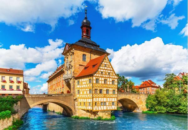 Jednodenní výlet do německého města Bamberk a plavba lodí