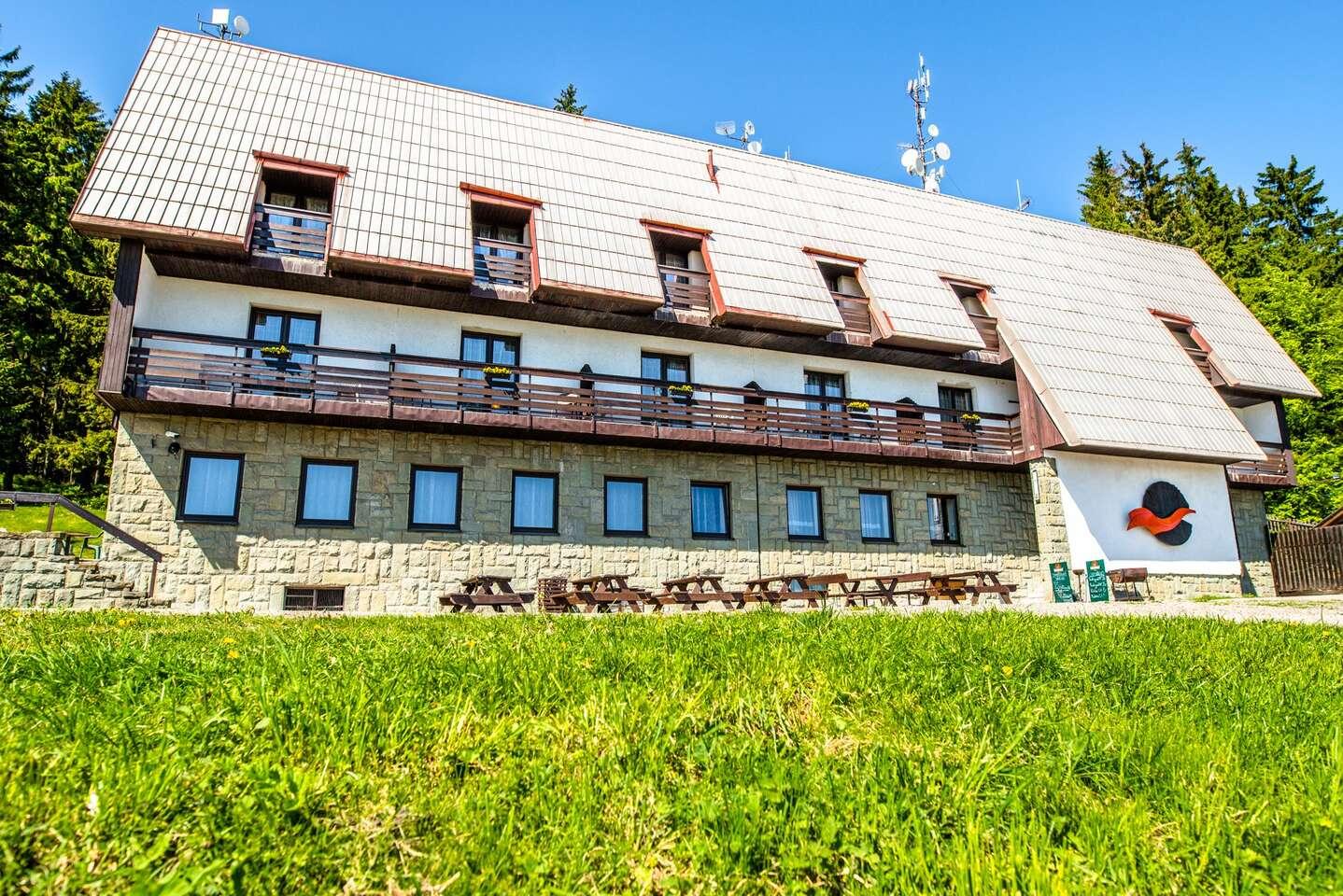 Last minute letní pohoda v Beskydech: hotel Kozubová s polopenzí