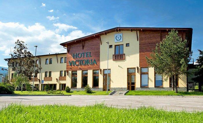 3–6denní pobyt s polopenzí a wellness v hotelu Victoria na Slovensku pro 2 osoby