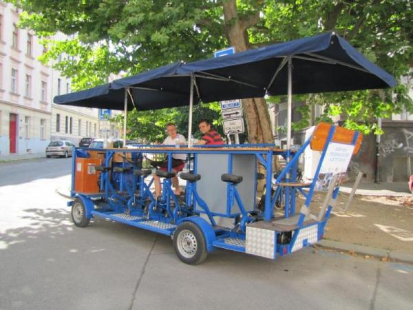 Beerbike Praha