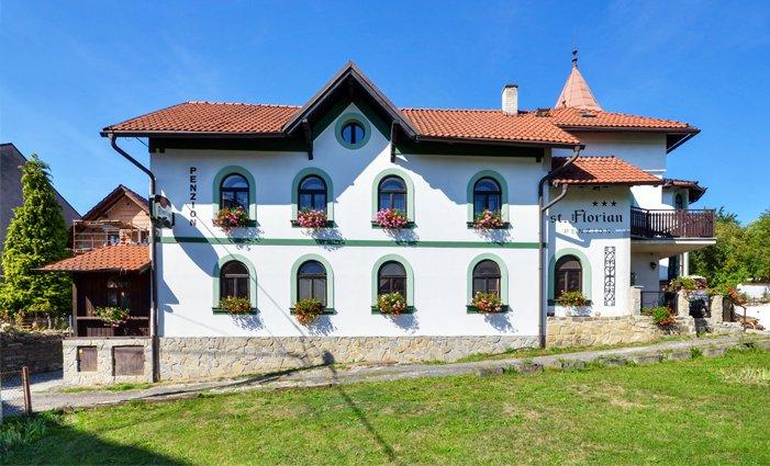 3–6denní last minute pobyt v pensionu St. Florian nedaleko Beskyd pro 2