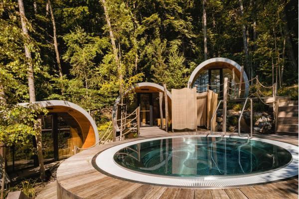Dovolená u legendární Zelené žáby se vstupem do jedinečného venkovního saunového světa nebo na koupaliště