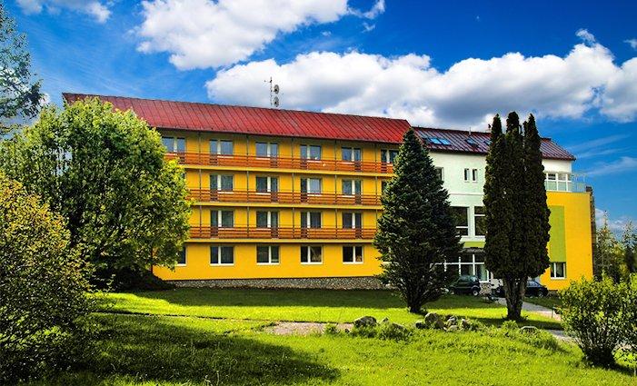 3 až 8denní wellness pobyt pro 2 s polopenzí v hotelu Lesana ve Vysokých Tatrách