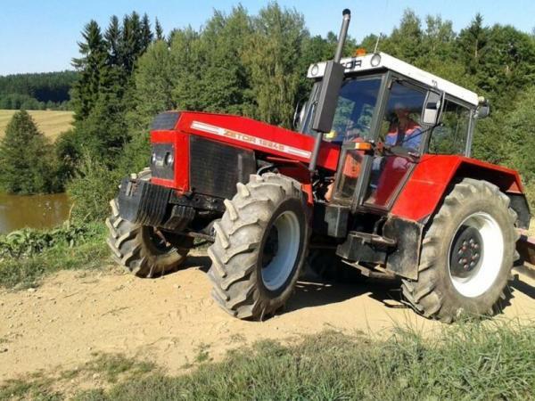 Offroadová jízda traktorem Vysočina
