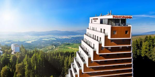 Hotel Panorama**** u Štrbského plesa s polopenzí a dítětem do 11 let v ceně